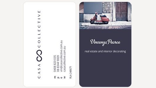 Casa Collective Business Cards